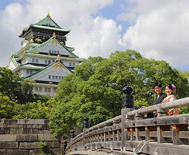 大阪城ロケーション撮影プラン