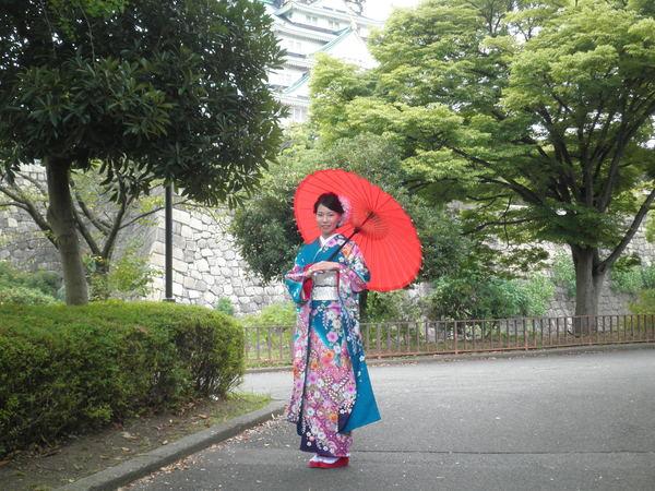 成人式前撮りプラン(スタジオ・大阪城ロケーション撮影)